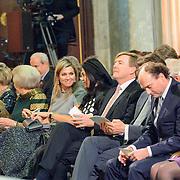 NLD/Amsterdam/20151202 - Koninklijke Familie bij uitreiking Prins Claus Prijs 2015, Koninklijke familie heeft plezier