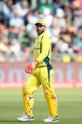 Matthew Wade of Austrailia during the 5th ODI match between South Africa and Australia held at Newlands Stadium in Cape Town, South Africa on the 12th October  2016<br /> <br /> Photo by: Shaun Roy/ RealTime Images