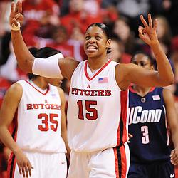 NCAA Women's Basketball - UConn at Rutgers - March 2, 2009