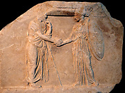 Accounts of the treasurers of the goddess Athena for 377-375 BC part of a relief from the Temple of the Parthenon, Athens Greece