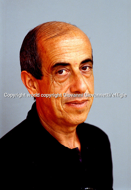 Giorgio Todde <br />world copyright Giovanni Giovannetti/effigie / Writer Pictures<br /> <br /> NO ITALY, NO AGENCY SALES / Writer Pictures<br /> <br /> NO ITALY, NO AGENCY SALES