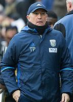 Football - 2016 / 2017 Premier League - West Ham United vs. West Bromwich Albion<br /> <br /> West Bromwich Manager Tony Pulis at the London Stadium.<br /> <br /> COLORSPORT/DANIEL BEARHAM