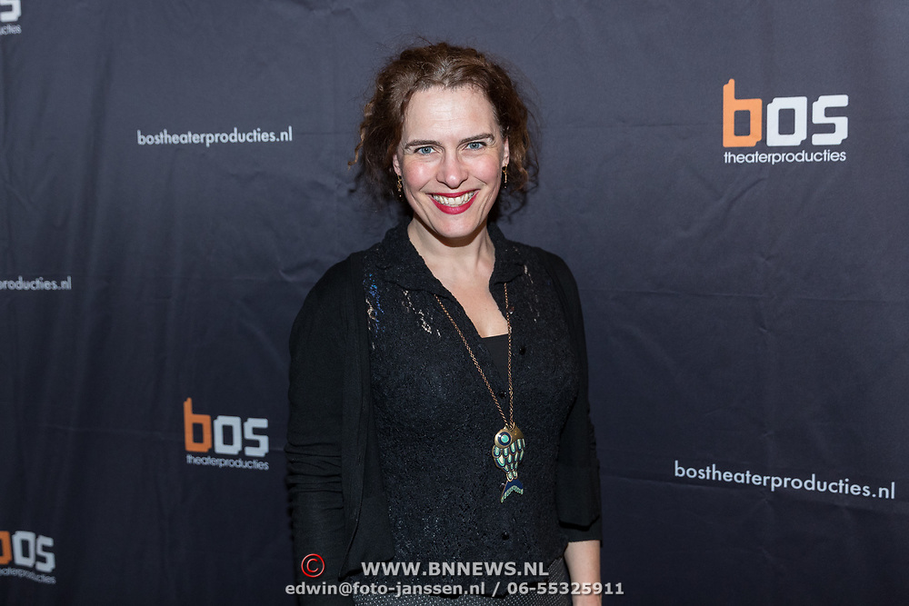 NLD/Amsterdam/20180222 - Premiere Vele Hemels boven de Zevende, Marlous van den Heuvel