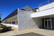 Energy efficient CIEMAT building research at Solar energy research establishment near Tabernas, Almeria, Spain