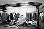 1964 - Stands and models at the Irish Export Fashion Fair at the Intercontinental Hotel