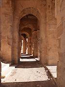 The ancient amphitheatre at El Jem, Tunisia