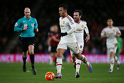 Memphis Depay of Manchester United - Mandatory by-line: Jason Brown/JMP - Mobile 07966 386802 12/12/2015 - SPORT - FOOTBALL - Bournemouth, Vitality Stadium - AFC Bournemouth v Manchester United - Barclays Premier League