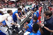 Vitali Luca time out Brescia, EA7 EMPORIO ARMANI OLIMPIA MILANO vs  GERMANI BASKET BRESCIA, gara 2 Semifinale Play off Lega Basket Serie A 2017/2018, Mediolanum Forum Assago (MI) 26 maggio 2018 - FOTO: Bertani/Ciamillo