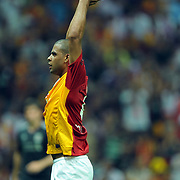 Galatasaray's Felipe MELO during their Friendly soccer match Galatasaray between Liverpool at the TT Arena at Arslantepe in Istanbul Turkey on Saturday 28 July 2011. Photo by TURKPIX
