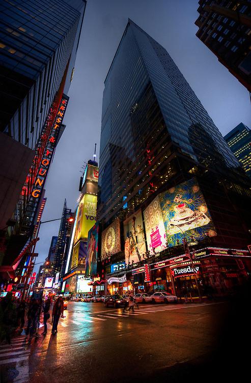 Manhattan night views