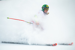 Katharina Liensberger (AUT) during the Ladies' Giant Slalom at 57th Golden Fox event at Audi FIS Ski World Cup 2020/21, on January 17, 2021 in Podkoren, Kranjska Gora, Slovenia. Photo by Vid Ponikvar / Sportida