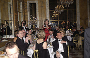 Crillon Debutantes Ball 2002. Paris. 7 December 2002. © Copyright Photograph by Dafydd Jones 66 Stockwell Park Rd. London SW9 0DA Tel 020 7733 0108 www.dafjones.com
