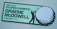PORTRUSH - Graeme McDowell. ROYAL PORTRUSH GOLF CLUB. The Dunluce Championship Course.COPYRIGHT KOEN SUYK