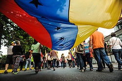 June 22, 2017 - Valencia, Carabobo, Venezuela - Venezuelan citizens participated in the night march, against the government of Nicolas Maduro, for democracy and fallen heroes, in Valencia, Carabobo state. Photo: Leo Da Cunha (Credit Image: © Leo Da Cunha via ZUMA Wire)