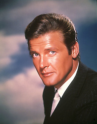 May 23, 2017 - Hollywood, California - FILE PHOTO DATED 1963 - Sir ROGER MOORE in the role of ''The Saint'' in 1963. Sir Roger Moore has died at the age of 89 following ''a short but brave battle with cancer.'' (Credit Image: © SNAP/Entertainment Pictures/ZUMAPRESS.com)