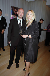 SEBASTIAN SAINSBURY and VALENTINA DROUIN at an Evening at Sanderson in Aid of CLIC Sargent held at The Sanderson Hotel, 50 Berners Street, London W1 on 15th May 2007.<br />