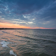 Today's  Summer Sunrise  at Narragansett Town Beach, Narragansett, RI,  July  22, 2013.