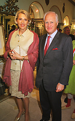 MR & MRS WINSTON CHURCHILL at a reception in London on 20th May 1999.MSI 23