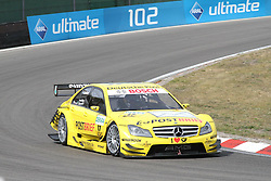 13.05.2011, Circuit Park, Zandvoort, NL, DTM 2011  2. Rennen, Training, im Bild: David Coulthard (GB #17 Deutsche Post AMG Mercedes).   // during the dtm race Zandvoort  race 02, on 13/05/2011  EXPA Pictures © 2011, PhotoCredit: EXPA/ nph/   Theissen       ****** out of GER / SWE / CRO  / BEL ******