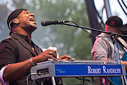 Robert Randolph & the Family Band at the 2010 Union County Music Festival, Clark, NJ.