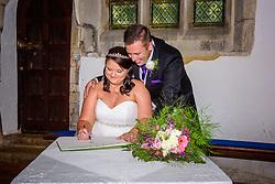 Church Wedding in Kimpton, Hertfordshire