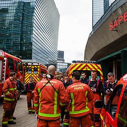 2019/05 Sapeurs pompiers de Paris lors des GJ acte 27