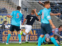 Falkirk's Jay Fulton celebrates after scoring their second goal.<br /> Falkirk 2 v 1 Dunfermline, Scottish League Cup, 27/8/2013, at The Falkirk Stadium.<br /> ©Michael Schofield.