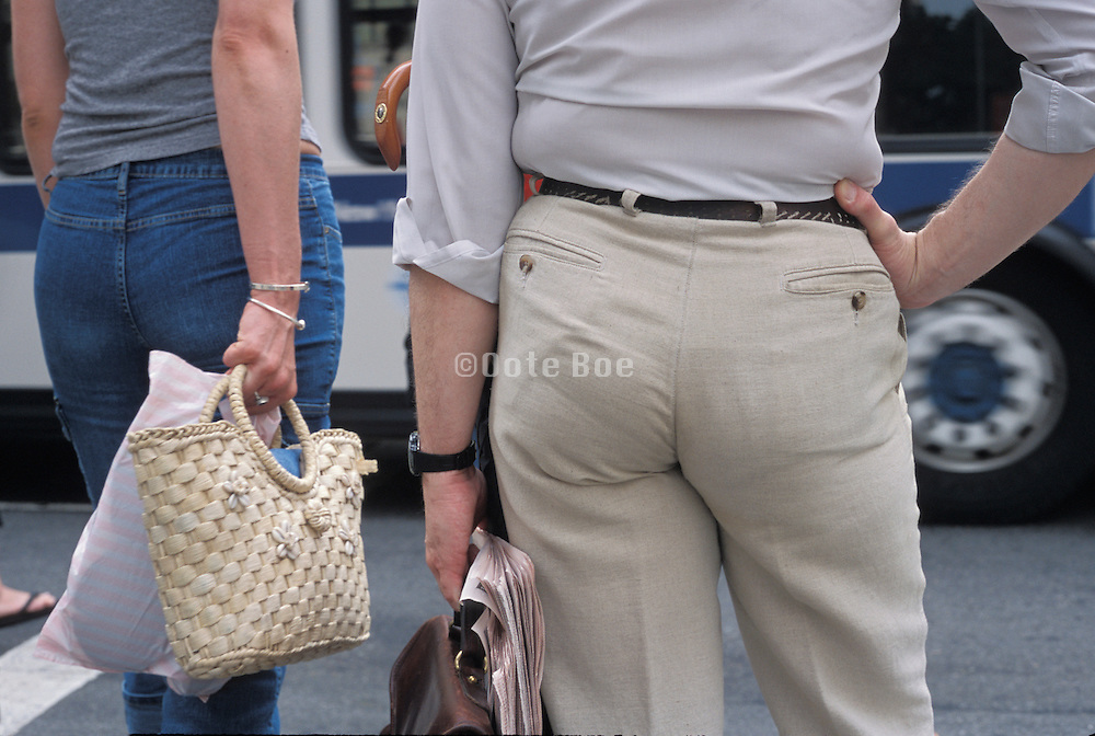 People in tight pants