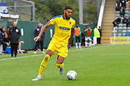 Jake Jervis (10) of AFC Wimbledon during the EFL Sky Bet League 1 match between Plymouth Argyle and AFC Wimbledon at Home Park, Plymouth, England on 6 October 2018.