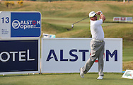 Lee Westwood (ENG) plays from the 13th tee during Round One of the 2015 Alstom Open de France, played at Le Golf National, Saint-Quentin-En-Yvelines, Paris, France. /02/07/2015/. Picture: Golffile | David Lloyd<br /> <br /> All photos usage must carry mandatory copyright credit (© Golffile | David Lloyd)