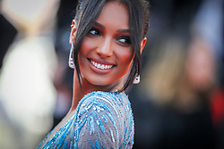 Jasmine Tookes attends the screening of The Traitor during the 72nd annual Cannes Film Festival on May 23, 2019 in Cannes, France. Photo by Shootpix/ABACAPRESS.COM