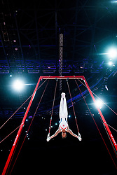 August 9, 2018 - Glasgow, UNITED KINGDOM - 180809 Sofus Heggemsnes of Norway competes at the rings in the qualification of Men's Artistic Gymnastics during the European Championships on August 9, 2018 in Glasgow..Photo: Jon Olav Nesvold / BILDBYRN / kod JE / 160290 (Credit Image: © Jon Olav Nesvold/Bildbyran via ZUMA Press)
