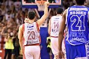 DESCRIZIONE : Reggio Emilia Lega A 2014-15 Grissin Bon Reggio Emilia - Banco di Sardegna Dinamo Sassari playoff Finale gara 5 <br /> GIOCATORE : Andrea Cinciarini<br /> CATEGORIA : esultanza<br /> SQUADRA : Grissin Bon Reggio Emilia<br /> EVENTO : LegaBasket Serie A Beko 2014/2015<br /> GARA : Grissin Bon Reggio Emilia - Banco di Sardegna Dinamo Sassari playoff Finale gara 5<br /> DATA : 22/06/2015 <br /> SPORT : Pallacanestro <br /> AUTORE : Agenzia Ciamillo-Castoria/GiulioCiamillo<br /> Galleria : Lega Basket A 2014-2015 Fotonotizia : Reggio Emilia Lega A 2014-15 Grissin Bon Reggio Emilia - Banco di Sardegna Dinamo Sassari playoff Finale  gara 5<br /> Predefinita :