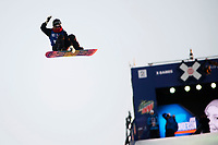 Snowboard , X-Games Oslo <br /> 27. Februar 2016  , 20160226<br /> Snowboard, Big Air Tøyen<br /> Jamie Anderson blødde etter at hun falt i damenes Big air snowboardfinale <br /> Foto: Sjur Stølen / Digitalsport