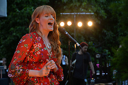 Florence Welch at the Dulwich Picture Gallery's inaugural Summer Party, Dulwich Picture Gallery, College Road, London England. 13 June 2017.