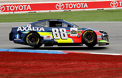 September 30, 2018 - Charlotte, NC, U.S. - CHARLOTTE, NC - SEPTEMBER 30:#88: Alex Bowman, Hendrick Motorsports, Chevrolet Camaro Axalta  during the running of the Inagural Bank of America ROVAL 400 on Sunday September 30, 2018 at Charlotte Motor Speedway in Concord North Carolina  (Photo by Jeff Robinson/Icon Sportswire) (Credit Image: © Jeff Robinson/Icon SMI via ZUMA Press)