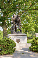 Maryland Monument, Gettysburg National Military Park, Pennsylvania, USA.