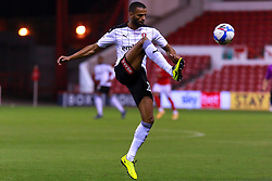 Michael Ihiekwe of Rotherham United controls the ball - Mandatory by-line: Ryan Crockett/JMP - 20/10/2020 - FOOTBALL - The City Ground - Nottingham, England - Nottingham Forest v Rotherham United - Sky Bet Championship