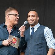 NLD/Hilversum/20180830 - Premiere GTST seizoen 29, Everon Jackson Hooi