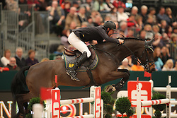Ruder Hans-Thorben, (GER), Compagnon<br /> Longines FEI World Cup presented by Sparkasse<br /> Sparkasen Cup-Grand Prix of Leipzig<br /> CSIO Leipzig 2016<br /> © Hippo Foto - Stefan Lafrentz