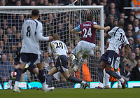 Photo: Olly Greenwood.<br />West Ham United v Tottenham Hotspur. The Barclays Premiership. 04/03/2007. West Ham's Mark Noble scores