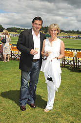 WILL & LISA CARLING at the 2008 Veuve Clicquot Gold Cup polo final at Cowdray Park Polo Club, Midhurst, West Sussex on 20th July 2008.<br /> <br /> NON EXCLUSIVE - WORLD RIGHTS