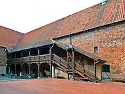 Gotycki zamek krzyżacki w Ostródzie