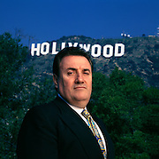 An Italian who bought the struggling film company MGM for over a billion dollars and then went bankrupt.  Photographed in Hollywood.