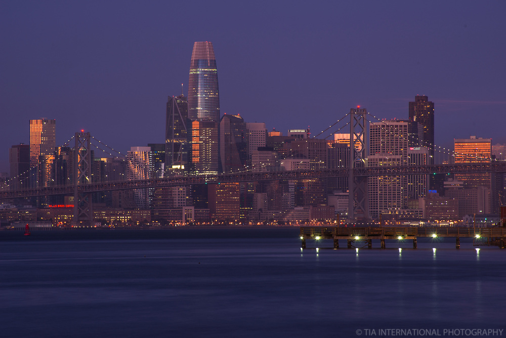Downtown San Francisco, Early Morning