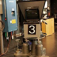 USA, Massachusetts, Boston. Television camera 3 at WGBH Studios.