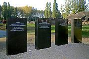Stawek w poblizu komory gazowej i krematorium IV, do ktołrego wsypywano popioly zamordowanych ludzi, Auschwitz II-Birkenau<br /> Rates next door to of gas chamber and crematory IV, ad quem one poured ashes of murdered people, Auschwitz II-Birkenau, Poland