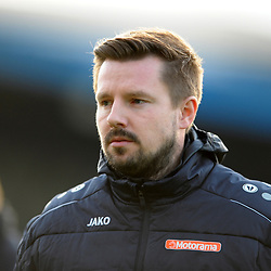TELFORD COPYRIGHT MIKE SHERIDAN Adam Lakeland during the Vanarama Conference North fixture between AFC Telford and Farsley Celtic at the New Bucks head Stadium on Saturday, December 7, 2019.<br /> <br /> Picture credit: Mike Sheridan/Ultrapress<br /> <br /> MS201920-033