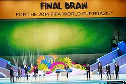 Cerimônia do sorteio dos grupos da Copa do Mundo de 2014, na Costa do Sauípe, Bahia. FOTO: Jefferson Bernardes/ Agência Preview