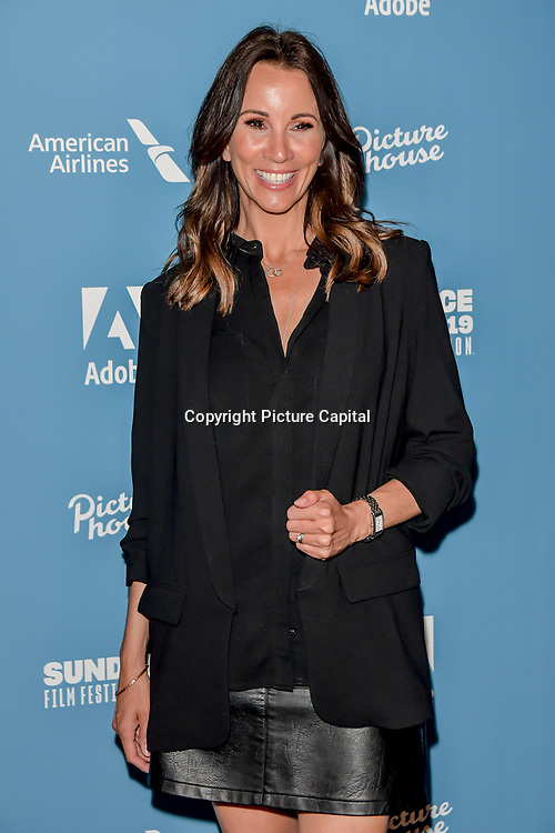"""Andrea McLean is a Scottish journalist & television presenter arrivers at the Sundance - """"Risk Independence """" Opening Night, at Picture House Central, on 30 May 2019, London, UK"""
